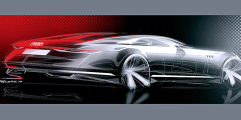 Audi Prologue concept car sketches leaked ahead of LA reveal