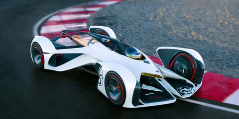 Chevrolet Chaparral 2X Vision Gran Turismo is powered by lasers