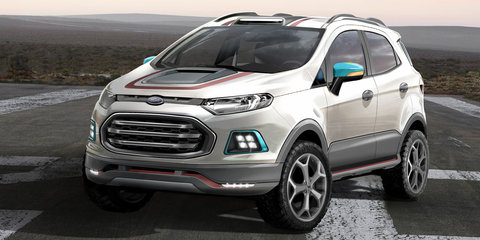Ford EcoSport Beauty, The Beast and Storm concepts head to Sao Paulo