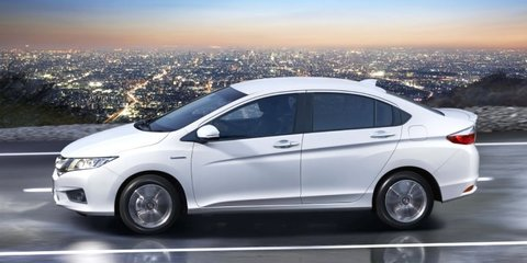 Honda City Hybrid unveiled in Japan