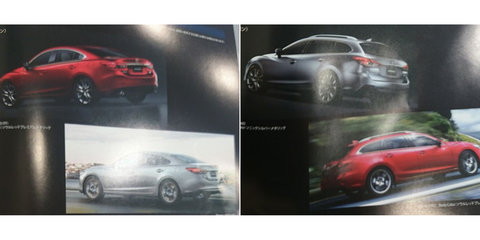 Mazda 6 facelift outed via leaked Japanese brochure