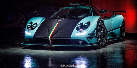 Pagani Zonda 760RSJX is a one-off pastel green beast