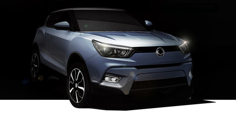 Ssangyong Tivoli name to be used on new X100 baby SUV
