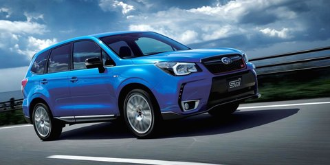 Subaru Forester tS : 300 STI-tuned special edition SUVs for Japan only