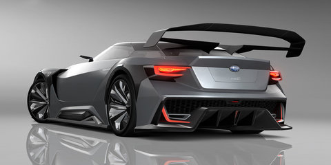 Subaru Viziv GT Vision Gran Turismo concept will be available on GT6 soon