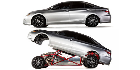 Toyota Sleeper Camry hides a 634kW dragster underneath