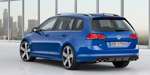 Volkswagen Golf R wagon: 221kW/380Nm load carrier to debut in LA
