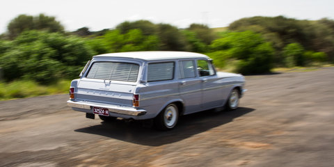 50 Years of Holden Wagon::Calais V Sportwagon v EH Holden Special Station Sedan