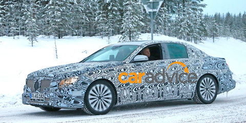 2016 Mercedes-Benz E-Class : new-generation luxury sedan spied