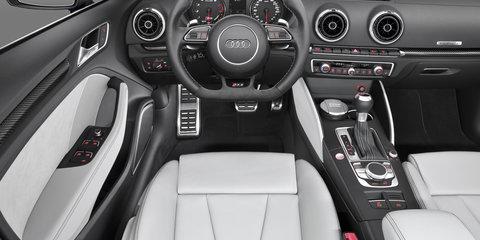 Audi RS3 Sportback emerges with 270kW five-pot powertrain