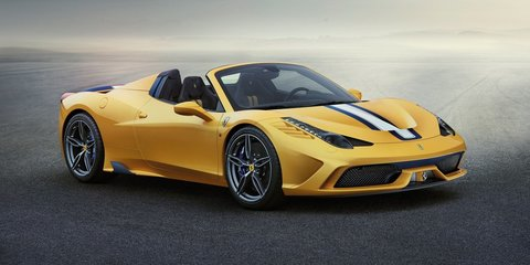 """Ferrari 458 Speciale A : $635K convertible """"most hotly contested special edition"""", says local boss"""