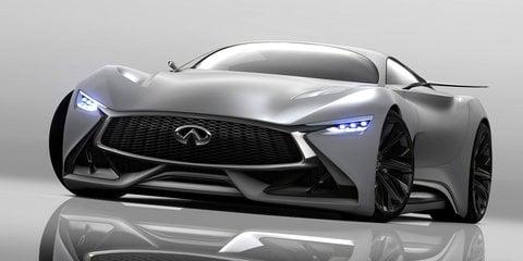 Infiniti Concept Vision Gran Turismo : V8 hybrid-powered GT car unveiled
