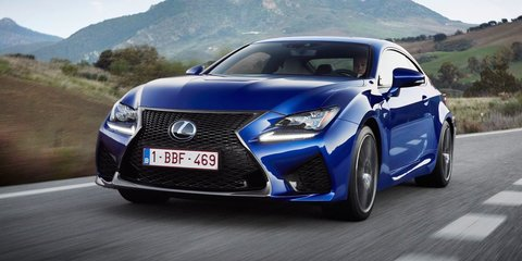 2017 Lexus GS F and RC F get adaptive suspension upgrade, increased pricing