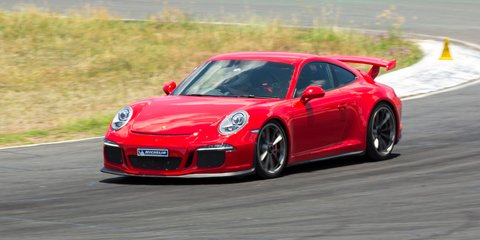 2015 Porsche 911 GT3 rides on latest Michelin Pilot Sport Cup 2 tyres : 50 per cent more life on track, faster lap times