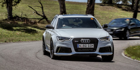 Audi celebrates 20 years of RS with an epic track day