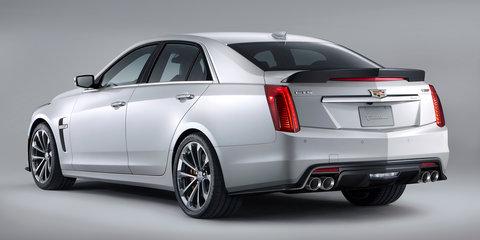 Cadillac CTS-V sedan revealed with 477kW/855Nm V8