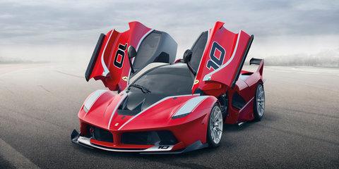 Ferrari FXX K tackles Atlanta circuit - Video
