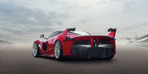 Ferrari FXX K: 772kW track-only version of the hybrid LaFerrari revealed