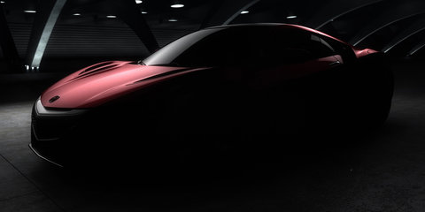 Honda NSX : production version teased prior to Detroit unveiling