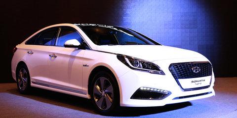 2015 Hyundai Sonata Hybrid unveiled