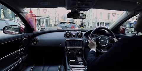 Jaguar Land Rover previews transparent pillar, ghost car navigation research