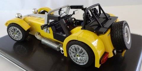 Lego Caterham Seven:: Vote to make super superlight car kit reality