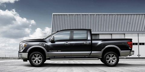 Nissan Titan full-size pickup might go global
