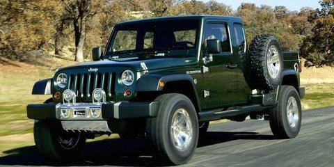 Jeep Wrangler Ute under consideration
