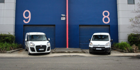Fiat Doblo v Citroen Berlingo: Small van comparison test