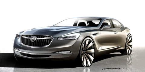 Buick Avenir ready for rear-drive platform sharing, Australian team to be involved