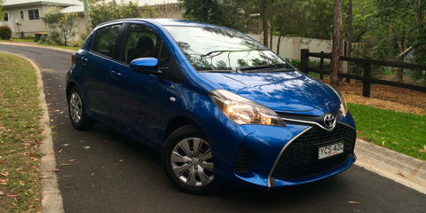 2015 Toyota Yaris Review: Ascent manual