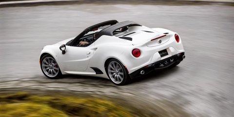 Alfa Romeo 4C Spider confirmed for Australia, arriving November