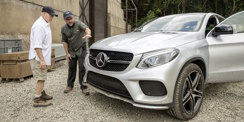Mercedes-Benz GLE Coupe to be dino-mite in Jurassic World