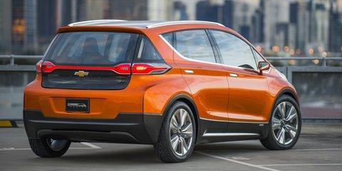 Chevrolet Bolt EV concept : Australian-designed concept claims 200 miles range, US$30K price