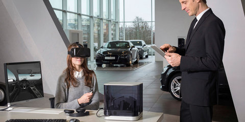 Ford VR shopping to bring test drives to you