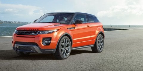 Range Rover Evoque three-door axed in the UK