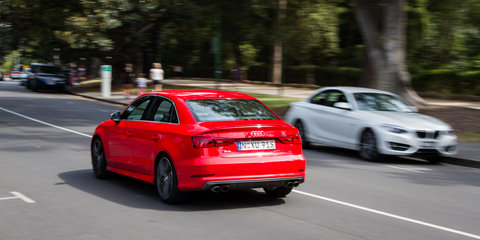 Audi S3 sedan v BMW 228i coupe : Comparison review