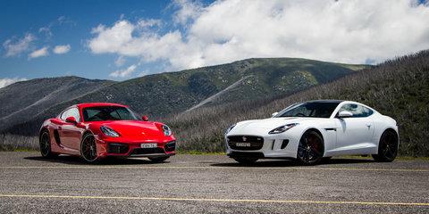 Jaguar F-Type S Coupe v Porsche Cayman GTS : Comparison review