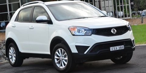 2015 Ssangyong Korando : New manual cuts starting price to $21,990 driveaway