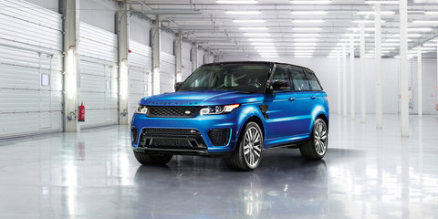 Range Rover Sport SVR priced from $218,500