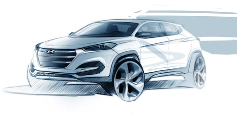 Next Hyundai Tucson sketched out, ix35 name ditched