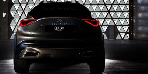 Infiniti QX30 Concept teased ahead of Geneva reveal