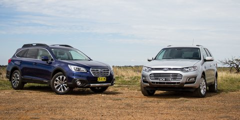 Ford Territory TS diesel v Subaru Outback 2.0D Premium : Comparison review