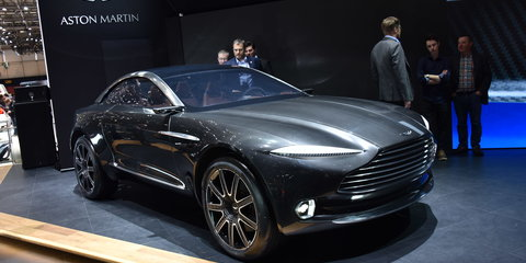 Aston Martin DBX crossover may be built in the USA - report