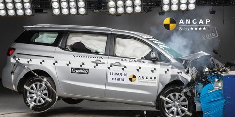 Kia Carnival selling strong with four-star safety rating: What's another star worth to buyers?