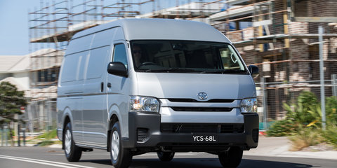 Toyota HiAce gets a range of updates