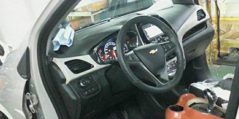 Next-gen Chevrolet Spark interior revealed in photo from production line