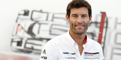 Mark Webber returns to Albert Park in a Porsche 918 Spyder
