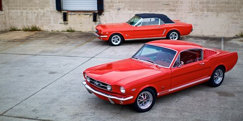 Ford Mustang: 'brand new' 1964 Pony cars team V8 power with IRS