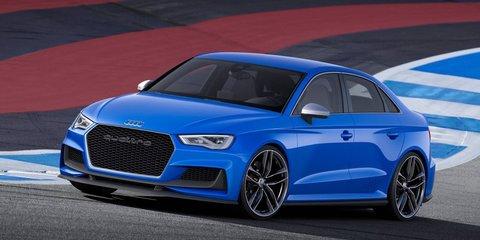 Audi RS3 sedan edging closer